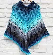 Free Crochet Poncho Pattern Custom Inspiration Design