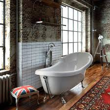 bathtub with legs oval acrylic old england