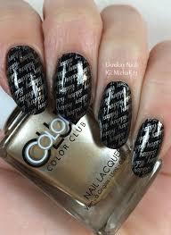 ehmkay nails: Happy New Year's Eve Nail Art Stamping