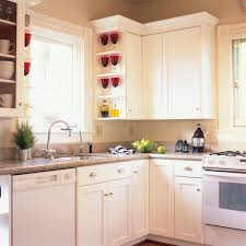 ... Kitchen Remodeling Idea Colorful Glass Display Pretentious Design Small  Remodel Ideas On A Budget ...