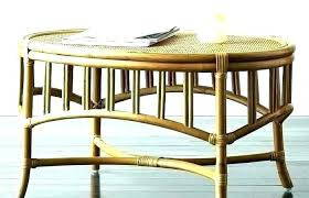 decoration rattan coffee table round small garden side large