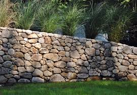 stone retaining wall north virginia by herndon clock tower
