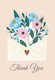 Heartwarmer Thank You Card Template Free Happy