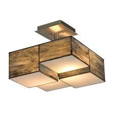 titan lighting braque collection 2 light brushed nickel led semi flush mount light