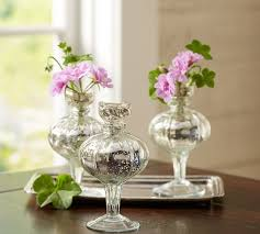 mercury glass bud vases set of 3 saved view larger roll over image to zoom