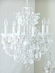 white chandelier for nursery small