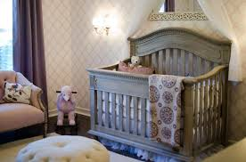 Baby Cot In Victorian Style