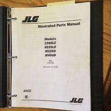 jlg model wiring diagram jlg heavy equipment manuals books jlg 3369le 4069le m3369 m4069 parts manual book catalog scissor lift