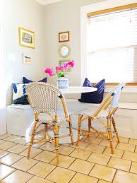Kitchen Built In Bench Built In Bench Kitchen Nook Serena Lily Bistro Chairs Tulip