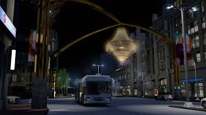 ge lighting will sponsor playhousesquare s new outdoor chandelier to be lit may 2 cleveland com