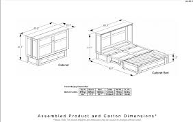 murphy bed cabinet plans. Modren Murphy Murphy Bed Cabinet Plans Within Beds Amy S Casual Comfort Inspirations 6 With