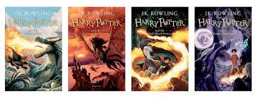harry potter jonny duddle covers goblet phoenix half blood and hallows