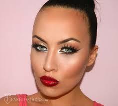 bold cat eye makeup tutorial