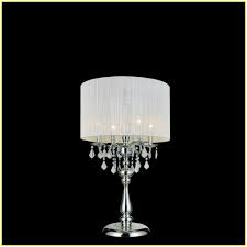 outstanding small crystal lamp shades chandelier table home design ideas 17 14 inside table lamps with crystals hanging popular