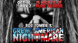 <b>ROB ZOMBIE'S</b> GREAT <b>AMERICAN</b> NIGHTMARE – <b>ROB ZOMBIE</b>