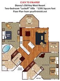 2 bedroom suites near disney world orlando. kidani village 2 bedroom villa floor plan suites in orlando all inclusive resorts sneaking extra person near disney world