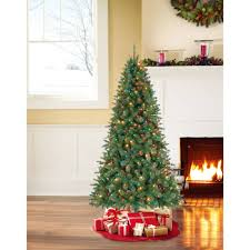 Pre-Lit 4.5' Vermont Fir Artificial Christmas Tree, 250 Multi ...