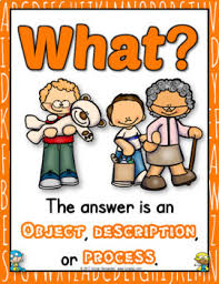 5ws And H Question Words Anchor Chart Who What When Where Why How And More