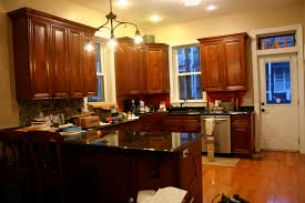 Yellow And Brown Kitchen Kitchen Paint Colors With Dark Cabinets Ideas Kitchen Designs