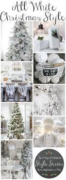 Best 25+ White xmas tree ideas on Pinterest | White christmas tree ...