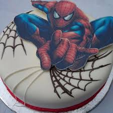 Ch Spiderman Cream Cake In Bangalore Buy Cakes Online In Bangalore