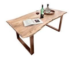 Sit Tops Tables Esstisch Akazie Baumkante Slim Slewocom