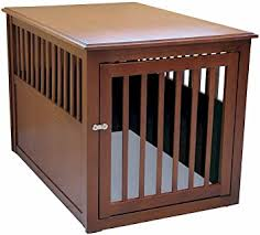 dog crates as furniture. Crown Pet Products Crate Wood Dog Furniture End Table, Large Size With Mahogany Crates As