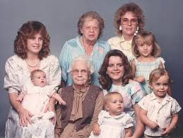 Image result for pictures of family generations