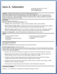 Entry Level Electrical Engineer Resume