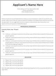 Printable Resume Templates Impressive Resume Builder Templates Free Printable Resume Builder Templates
