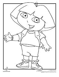 Free Printable Dora Coloring Pages Color Bros