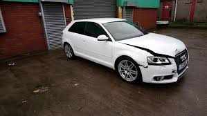 ebay audi a3 black edition 2012 3 door white damaged repairable salvage carparts