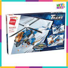 Bộ Đồ Chơi Xếp Hình Thông Minh Lego Qman 42103 - Máy Bay Trực Thăng Quân Sự  Biến Hình 604 Mảnh Ghép Cho Trẻ Từ 6 Tuổi tại Hà Nội