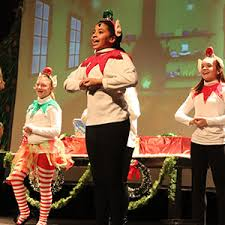 Buddy, a young orphan, mistakenly crawls into santa's bag of gifts and is transported to the north pole. Elf The Musical Digital Scenery And Resources
