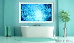 large modern canvas wall art art for bathroom wall art abstract water photography modern art prints