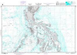 Free Bathymetric Charts Nga Chart 91005 Philippines Central Part Bathymetric Chart