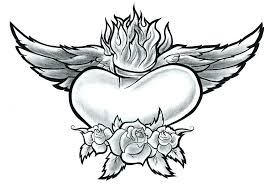coloring pages of roses and hearts coloring pages flowers and hearts hearts and roses coloring pages