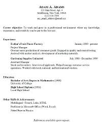 resume simple example easy resume examples this is easy resume examples also free basic