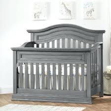 rustic crib furniture. Gray Baby Furniture Nursery Oxford 4 In 1 Convertible Crib Rustic Graphite