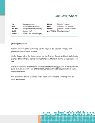 Cover Letter To Fax Fax Covers Office Com