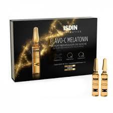 <b>Isdin Isdinceutics Flavo-C Melatonin</b> Repair Night Serum 30x2ml ...