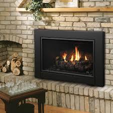 kingsman direct vent fireplace insert with blower idv43 millivolt controls