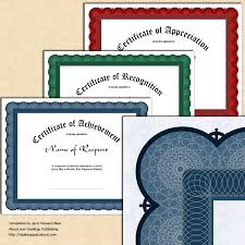 Make Certificates Online How To Create Certificates Of Recognition Templates Tutorials