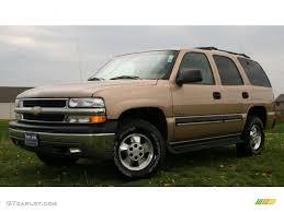 2001 Sunset Gold Metallic Chevrolet Tahoe LS 4x4 #28723541 ...