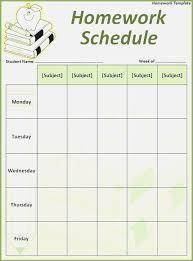 Free Homework Planner Superb Homework Planner Printable Kongdian