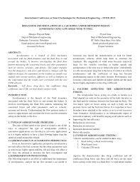 Road Vehicle Aerodynamic Design Rh Barnard Pdf Behavior And Simulation Of A Car Model Under Different