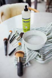 clean brushes at home how to clean makeup brushes