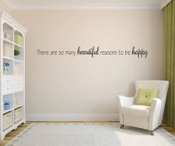 Happy Home Furniture Beauteous There Are So Many Reasons To Be Happy Home Decor Vinyl Decal Etsy