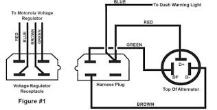 vw trike wiring alternator voltage regulator circuit schematic Alternator Voltage Regulator Wiring Diagram #21