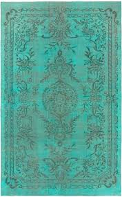 light teal rug quick view wool vanover